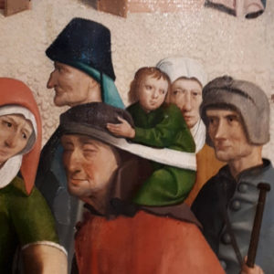 15. Jahrhundert - seltsam gemalt oder seltsam getragen?